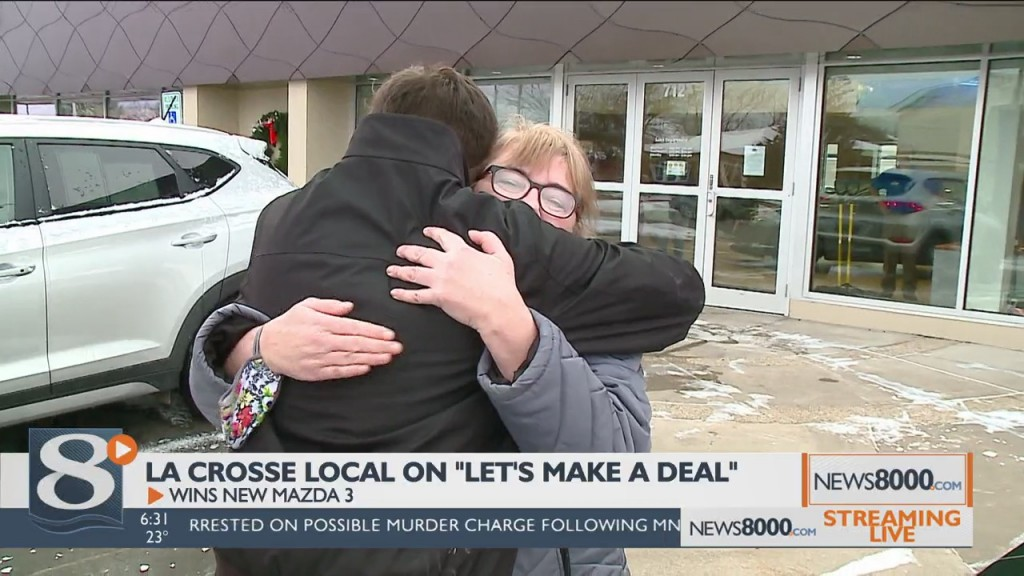"La Crosse Local Lands Big Deal On ""let's Make A Deal"""