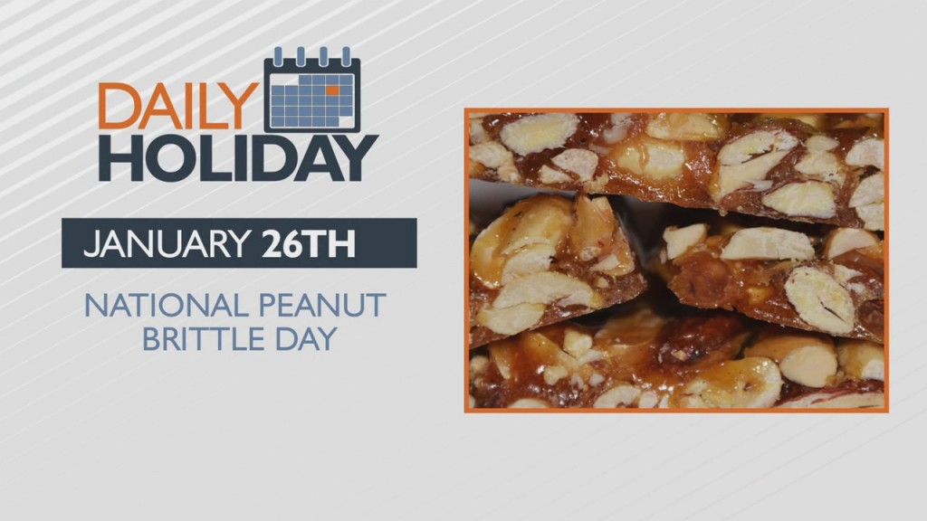 Daily Holiday National Peanut Brittle Day
