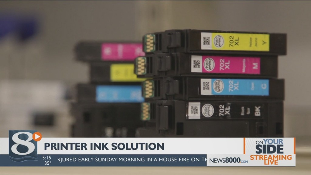 On Your Side: Printer Ink Solutions