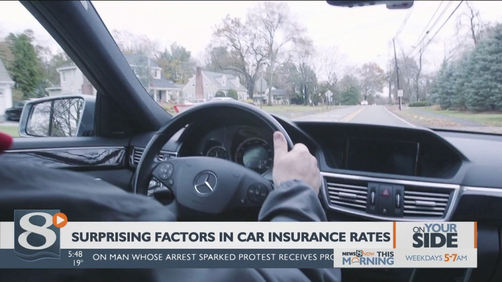 On Your Side: Surprising Facts In Car Insurance Rates