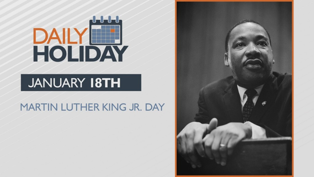 Daily Holiday Martin Luther King Jr. Day