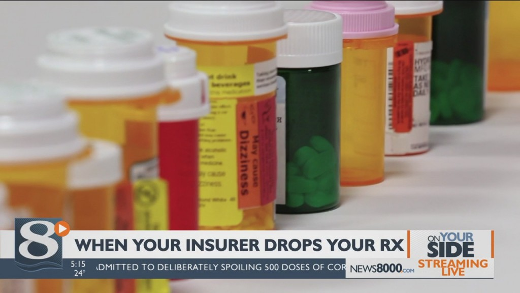 On Your Side When Your Insurer Drops Your Rx