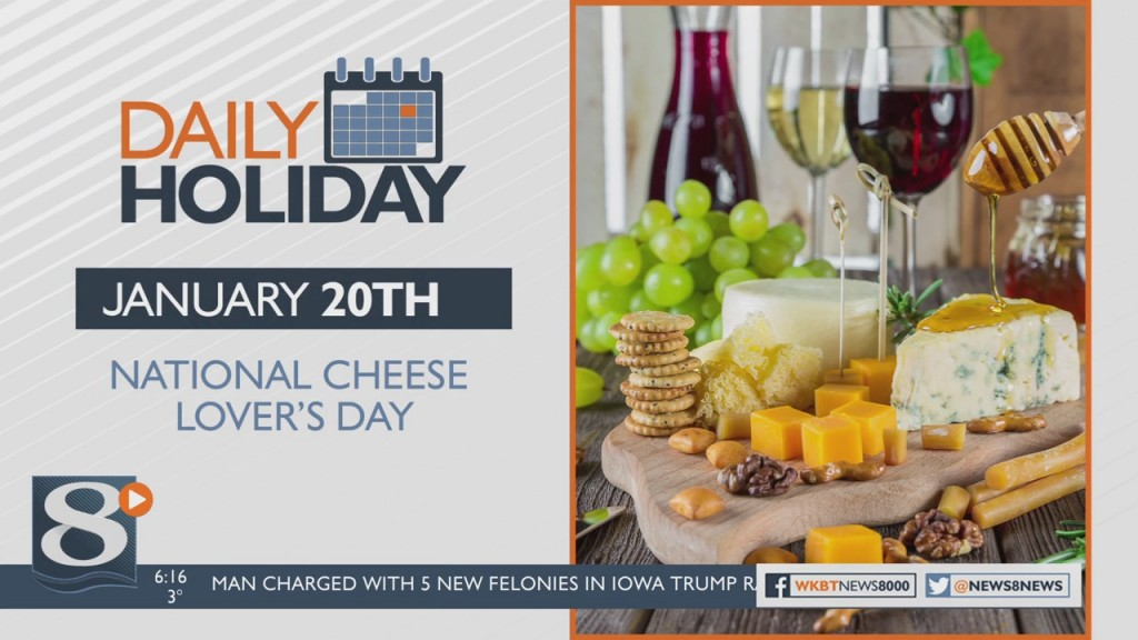 Daily Holiday National Cheese Lover's Day