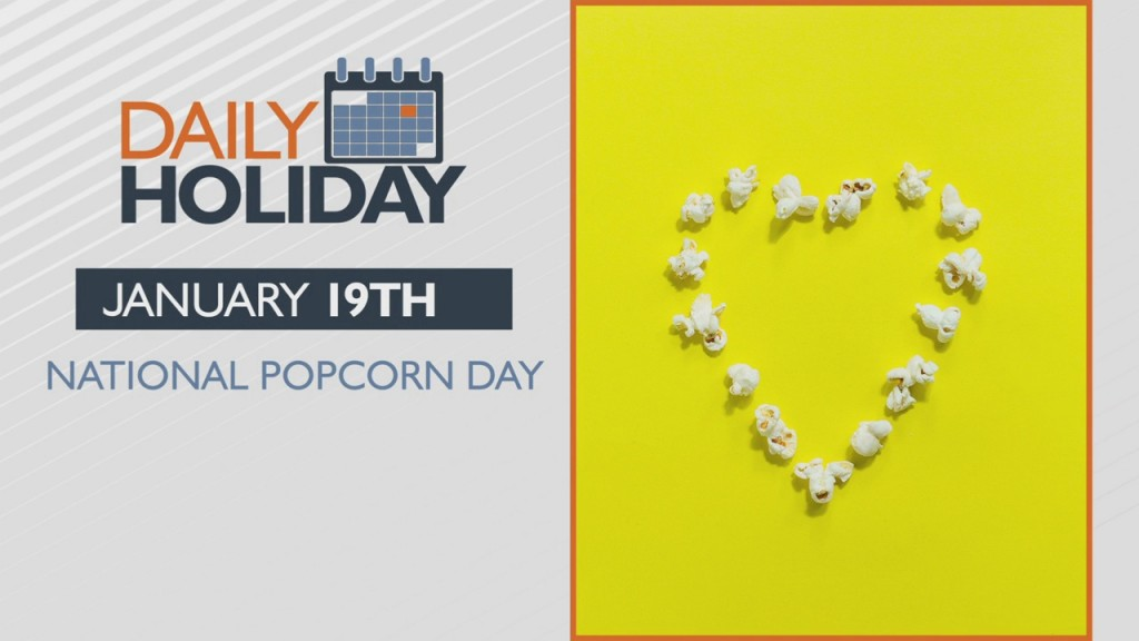 Daily Holiday National Popcorn Day