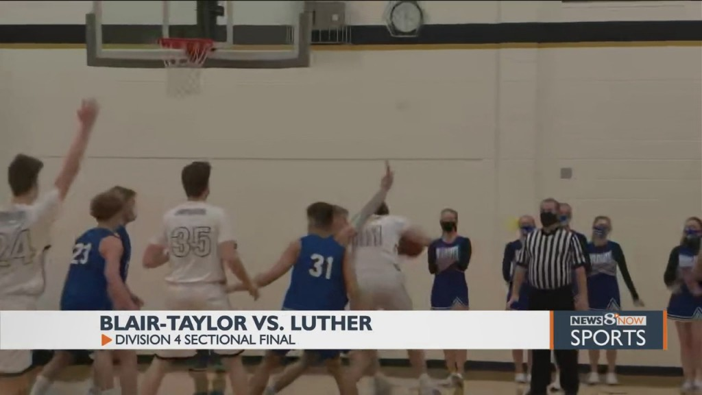 Luther Outlasts Blair Taylor To Clinch First Ever State Appearance