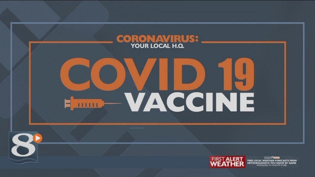 Select Number Of La Crosse County Employees Receive First Covid 19 Vaccine Doses
