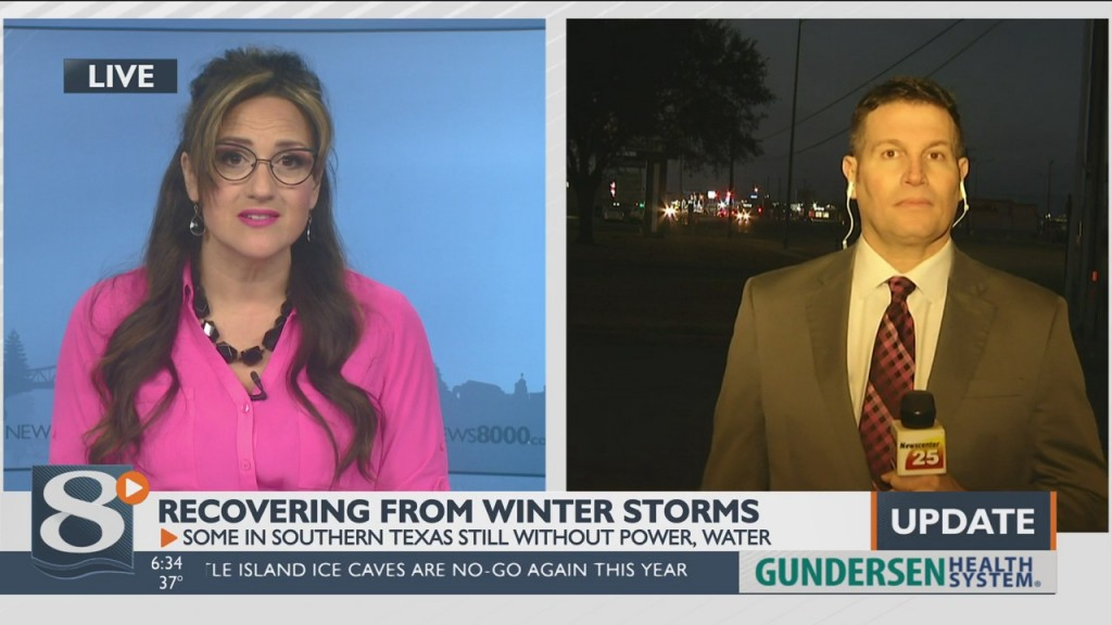 Live On News 8 Now This Morning: Texas Meteorologist Howard Gordon Shares Winter Storm Impact On Victoria Community