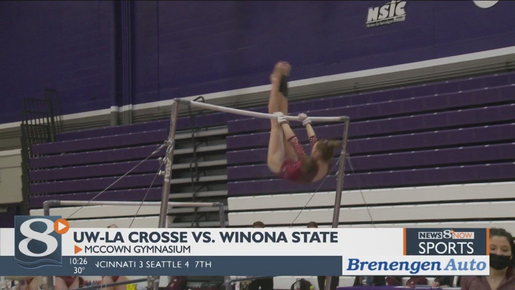 Uw La Crosse Gymnastics Tops Winona State, Now 2 0 On Season