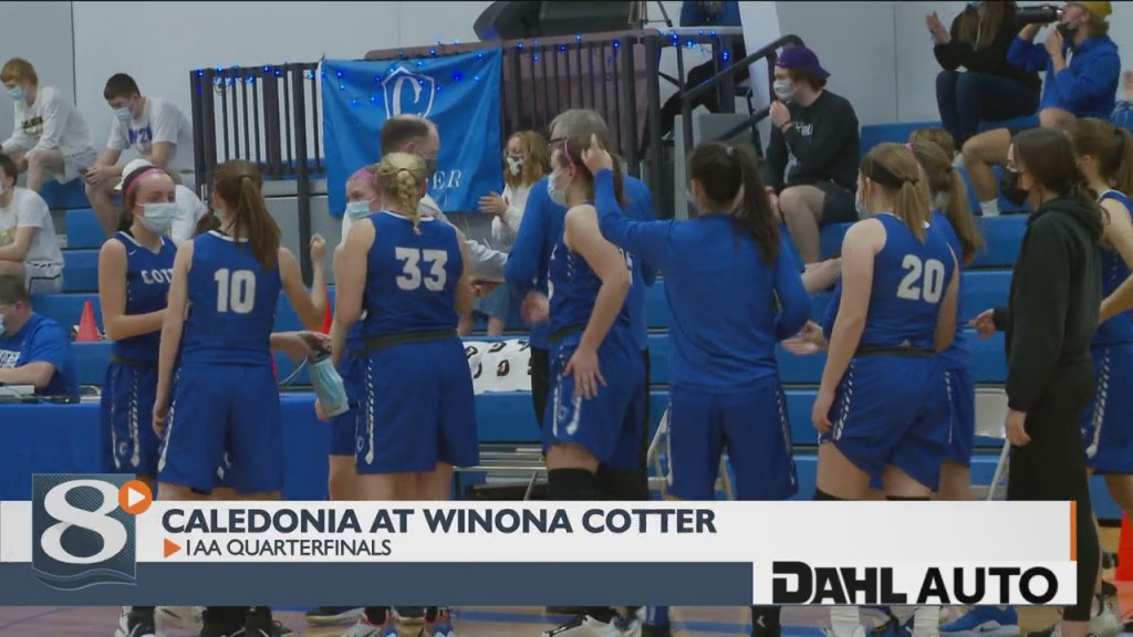 Cotter Rides Second Half To Beat Caledonia In 1aa Quarterfinals