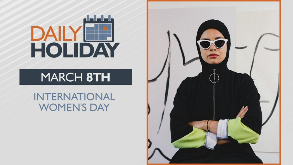 Daily Holiday International Women's Day