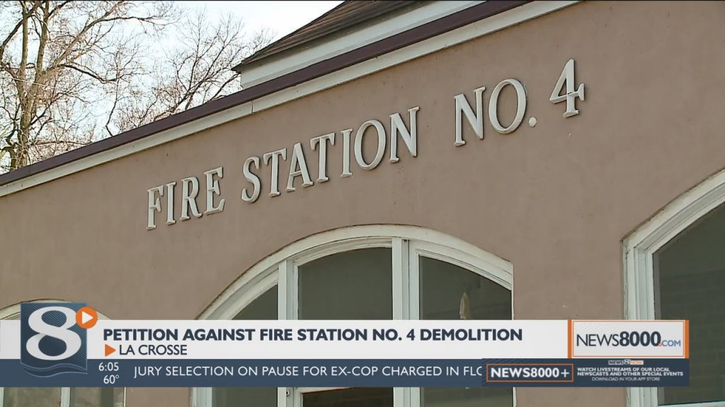 Petition Calls On La Crosse To Stop Demolition Of Fire Station 4