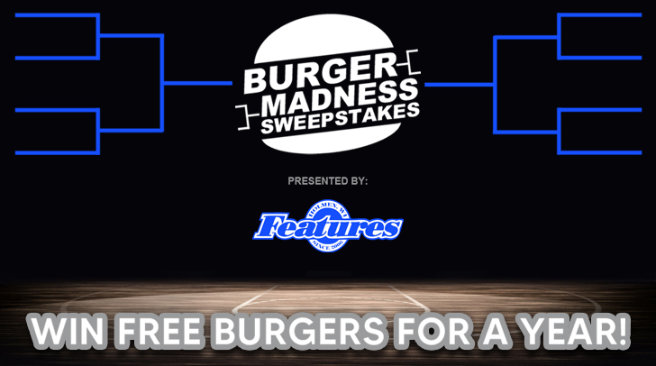 Features Burger Madness Sweepstakes Header