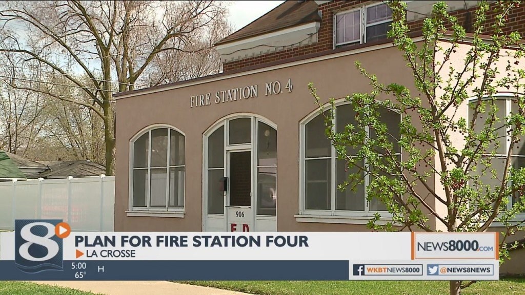 Preservation Alliance Of La Crosse Shares Plan To Keep Fire Station No. 4, Build New Station On Same Block