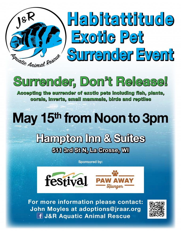 La Crosse Exotic Animal Surrender Event