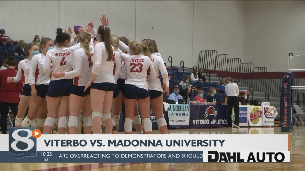 Viterbo Sweeps Madonna University In First Round Of Tournament
