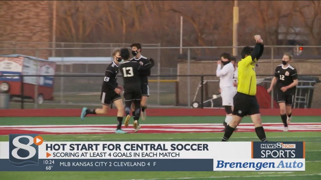 Central Soccer Pleasantly Surprised At Offense's Success