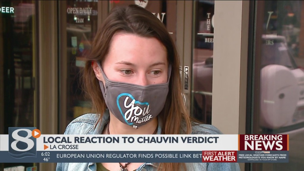 Local Reaction To Chauvin Guilty Verdict
