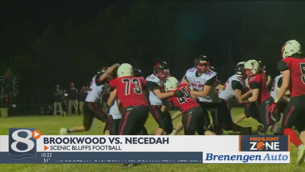 Brookwood Vs. Necedahscenic Bluffs Football