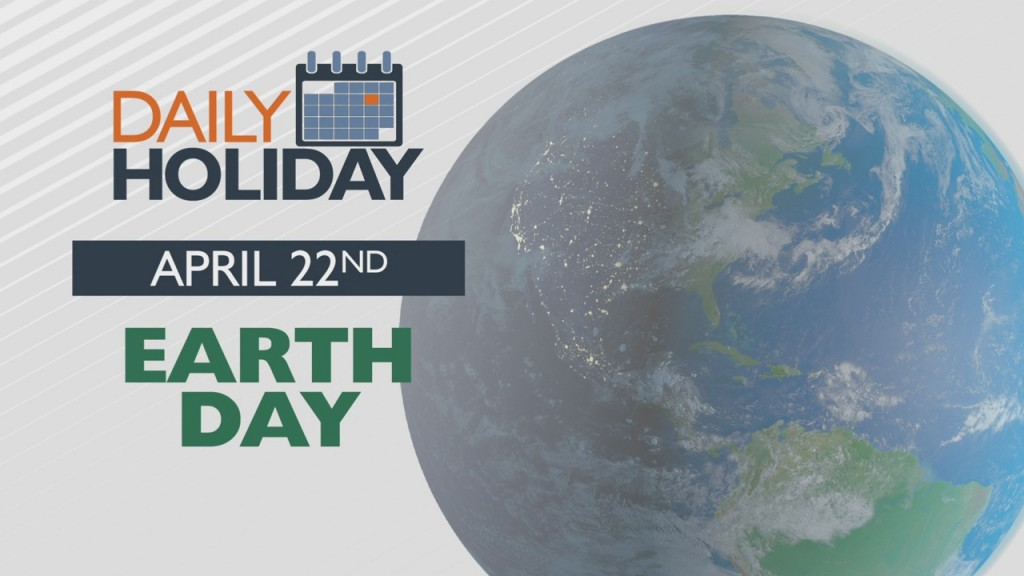 Daily Holiday Earth Day