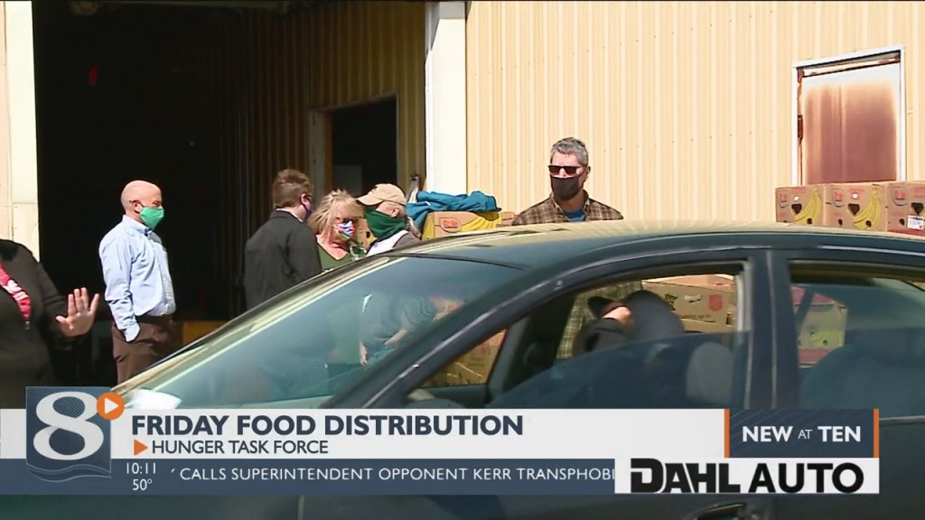 Hunger Task Force Hosts Second Free Food Distribution, Organizers Concerned About Repeal Of Gov. Evers' Emergency Order