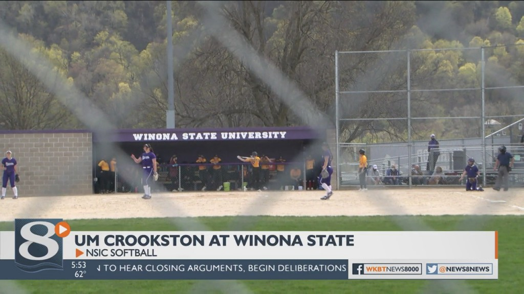 Um Crookston At Winona Statensic Softball