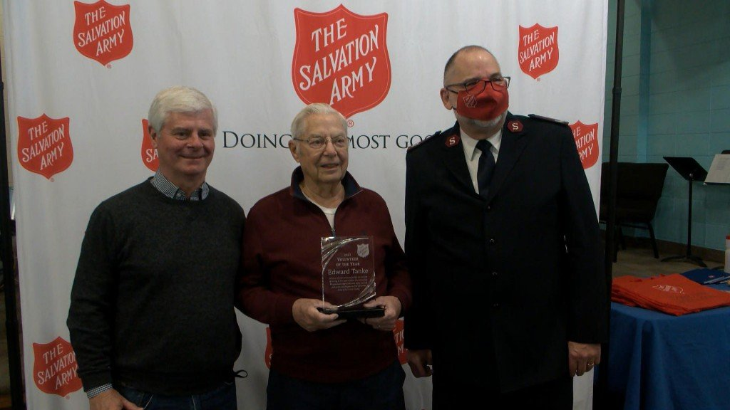 Salvation Army Volunteer Recognition