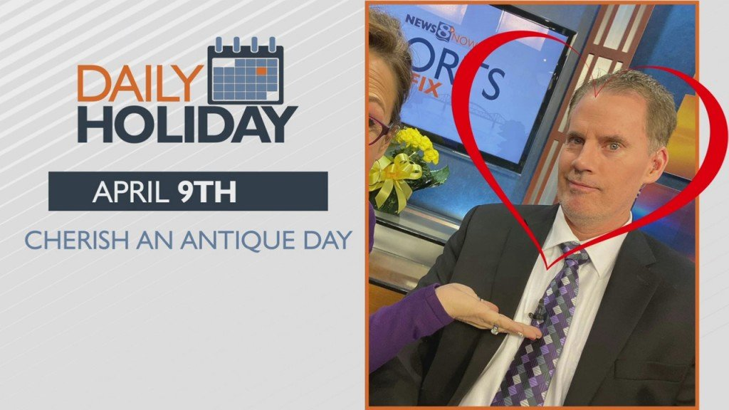 Daily Holiday Cherish An Antique Day