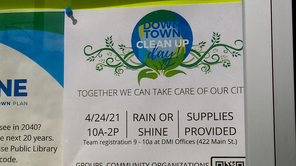 Downtown Clean Up Day Preview