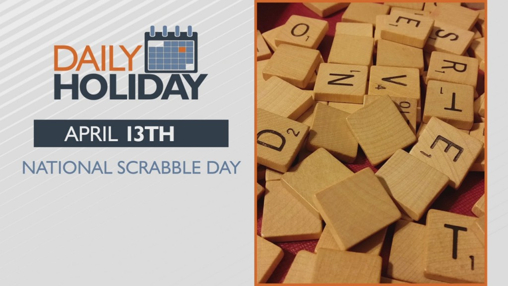 Daily Holiday National Scrabble Day