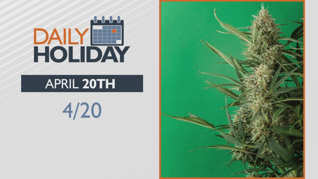 Daily Holiday 4/20/21
