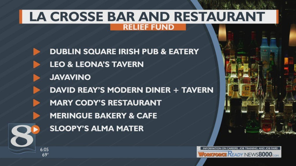 La Crosse Bar And Restaurant Relief Fund