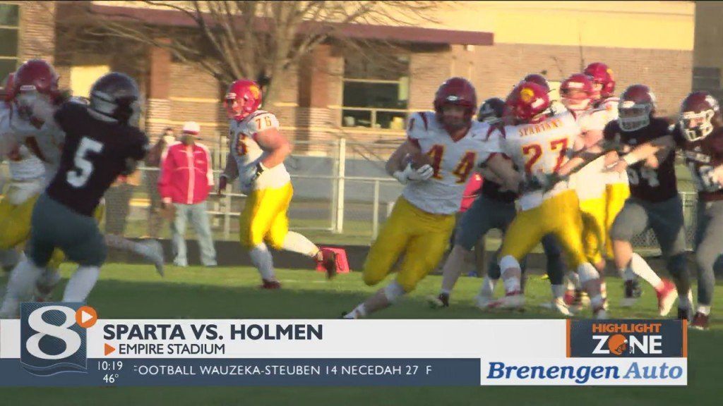Holmen Rides Strong Start To Conference Victory Over Sparta