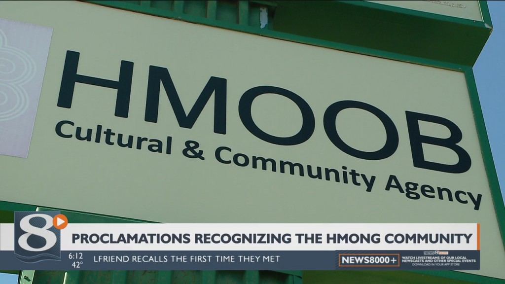 Proclamations Recognizing The Hmong Community