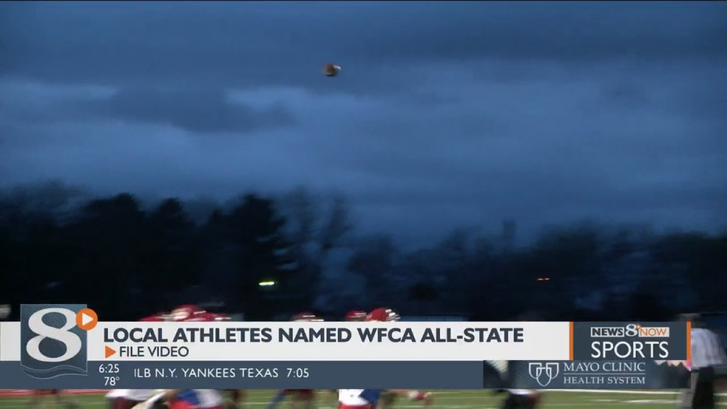 Several Local Athletes Named To Wfca All State List
