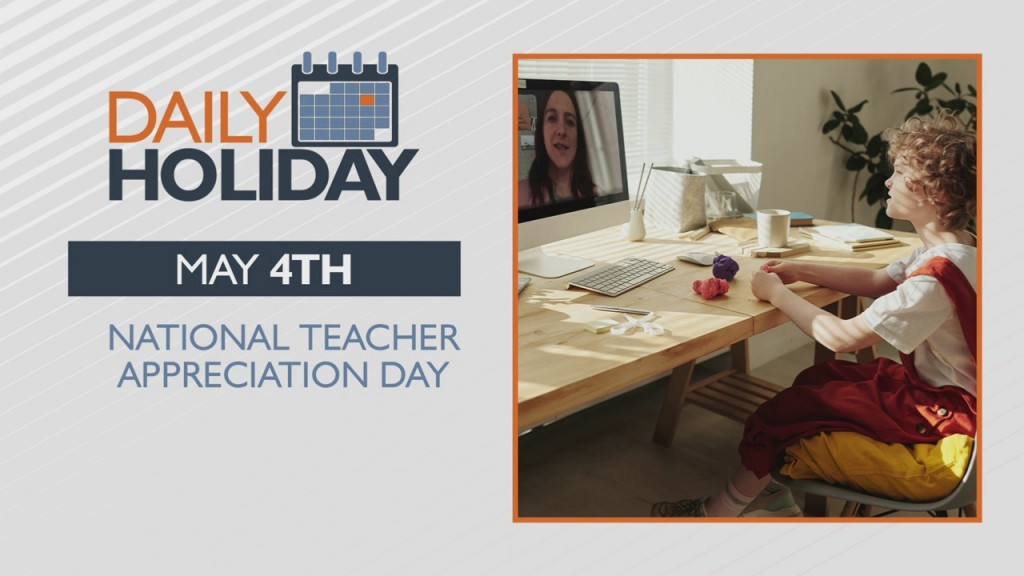 Daily Holiday National Teacher Appreciation Day