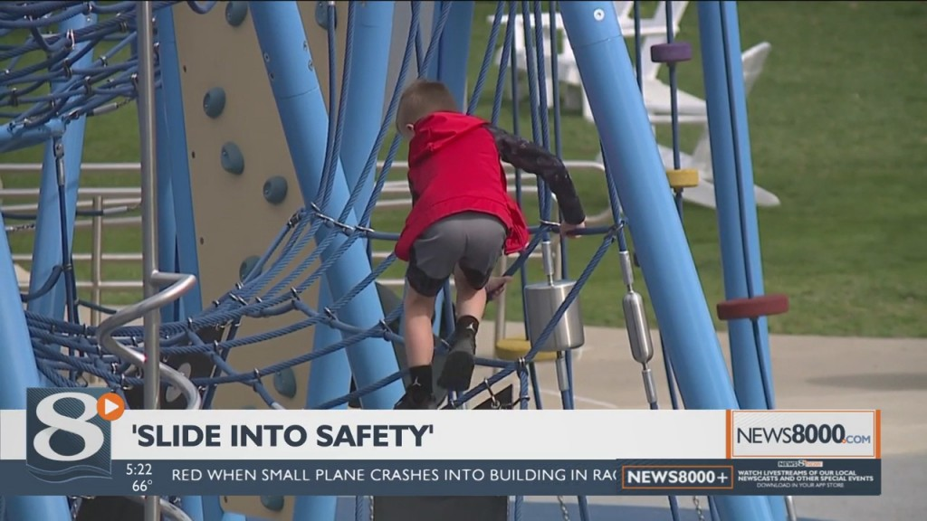 The 'slide Into Safety' Program Led By Gundersen Health System Hopes To Teach Kids About Safety Just In Time For Summer