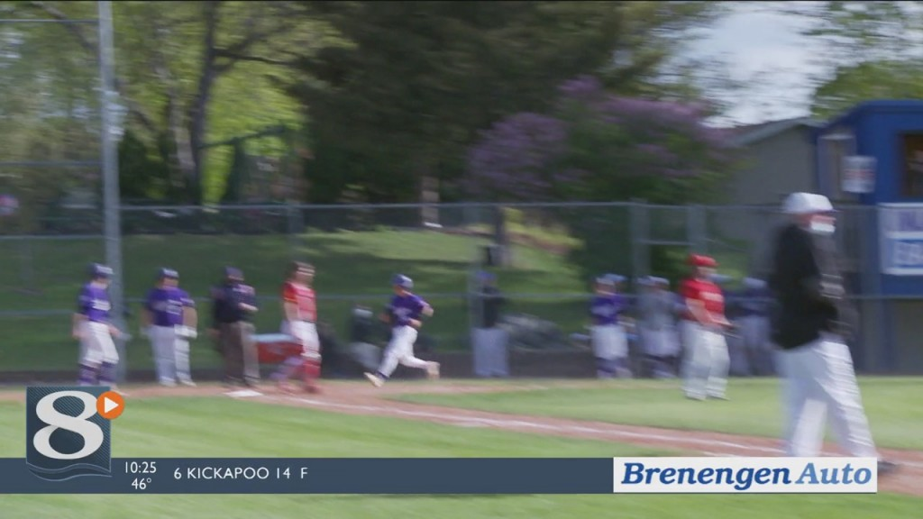 Fox, Hoeft Combine For 5 Rbi As Onalaska Beats Sparta 10 0