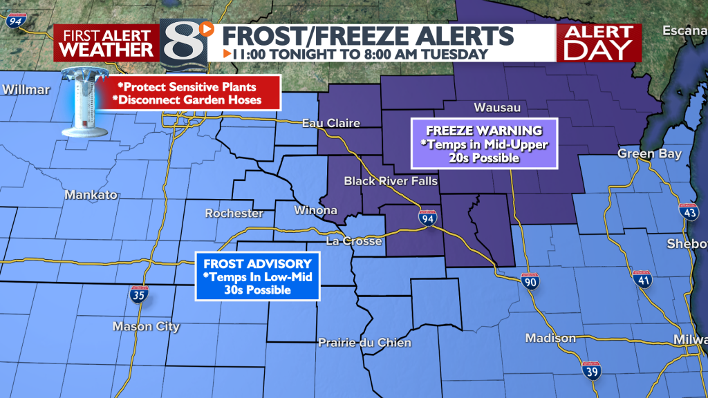 Frost Freeze Headlines Bill