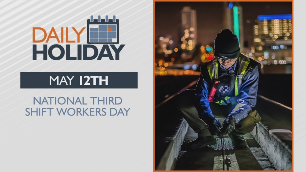 Daily Holiday National Third Shift Workers Day