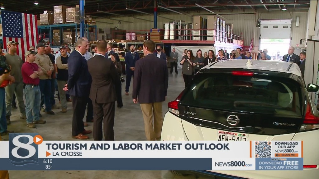 Us Labor Secretary Visits Dairyland Power As Leaders Assess Tourism And Labor Market Outlook