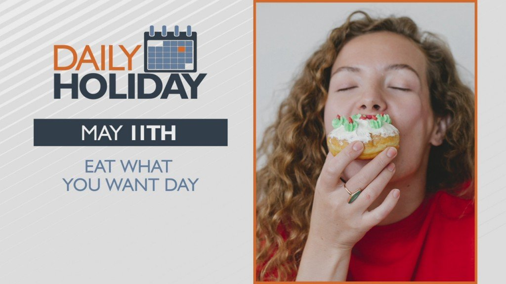 Daily Holiday Eat What You Want Day