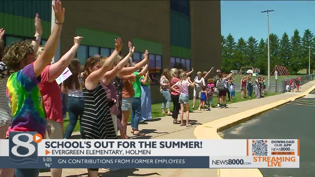 After A Whirlwind Of A Year, Evergreen Elementary Celebrates The Last Day Of School