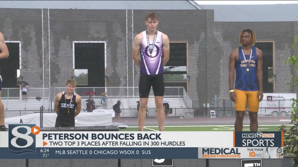 Banks, Peterson Earn Medals