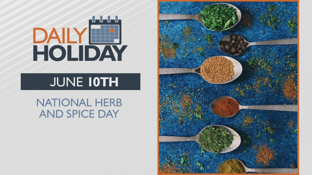 Daily Holiday National Herb And Spice Day