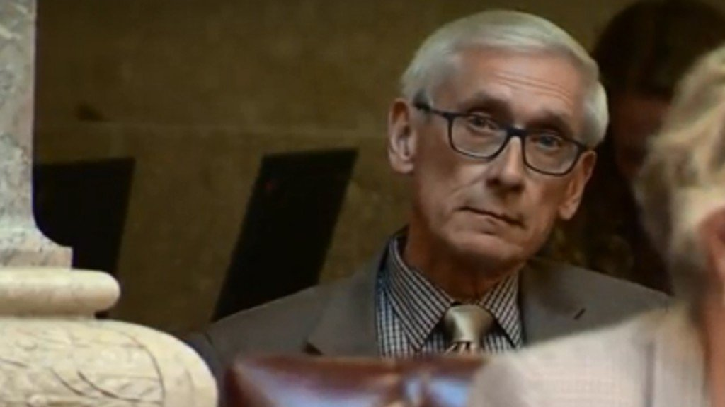 Evers Says Vetoing Entire State Budget Is An Option