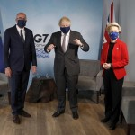 The Latest: Johnson Meets With Eu Leaders Amid Brexit Spat