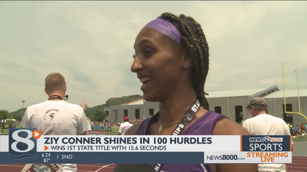 Independence's Ziy Conner Takes State Title In 100 Hurdles