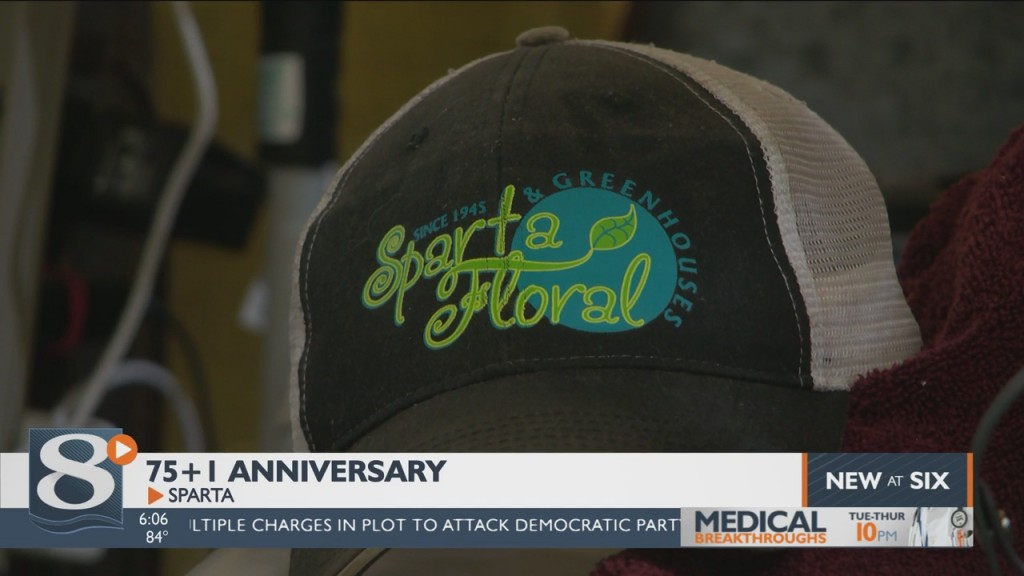 Sparta Greenhouse And Floral Celebrates 75+1 Years