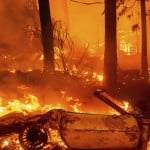 California's Largest Fire Torches Homes As Blazes Lash West