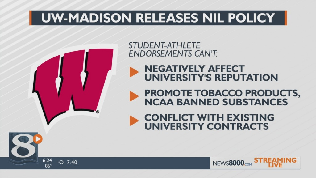 Uw Madison Releases Temporary Nil Policy